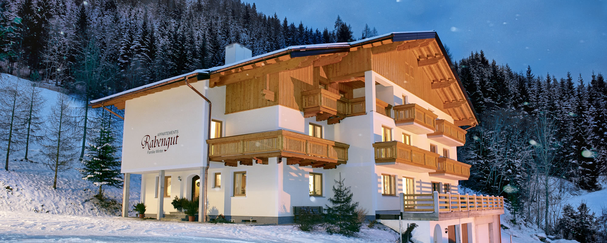 Winterurlaub in den Appartements Rabengut in Flachauwinkl, Ski amadé